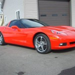 Red Corvette After