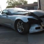 Grey Corvette Before